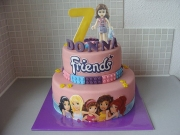 gallery/lego friends taart