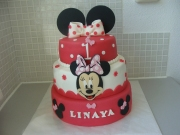 gallery/minnie mouse stapeltaart roze