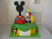 gallery/mickey mouse taart
